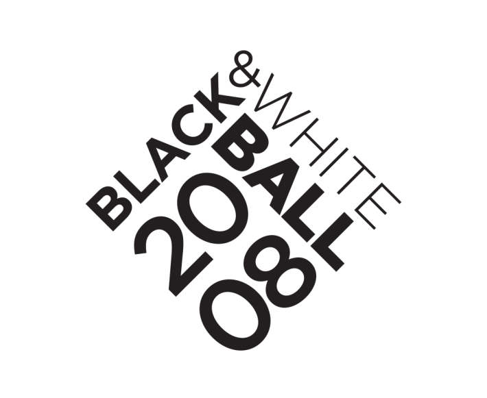 San Francisco Symphony Black and White Ball 2008 logo
