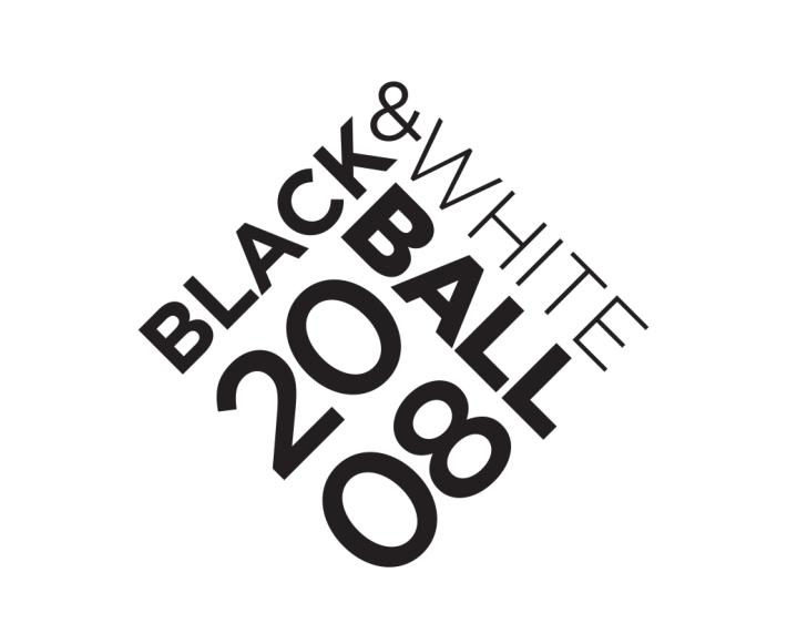 San Francisco Symphony Black and White Ball 2008 logo