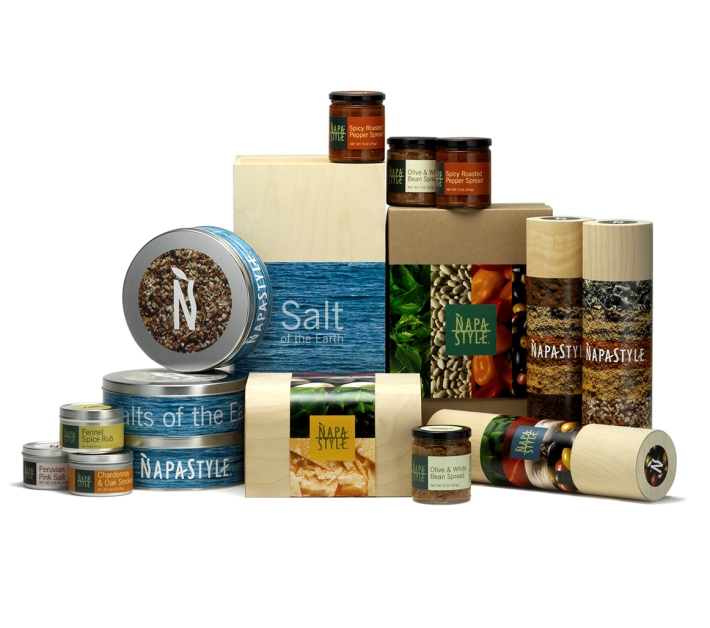 NapaStyle gift packaging